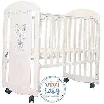 【ViVibaby】王子兔組合小床(白)E39195