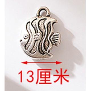 k88藏銀配件 小魚款