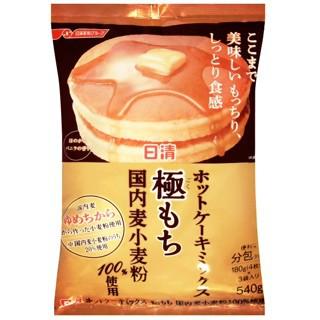 日清 極致濃郁鬆餅粉180gx4袋