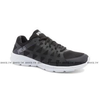 《特價鞋款》 Shoestw【1J587Q003】FILA Memory Finity 輕量慢跑鞋 黑白 男款