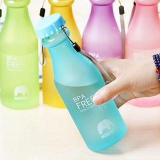現貨 韓國 摔不破 糖果色汽水瓶 550ML 隨身 水杯 水瓶 運動 水壺 星巴克 冷水壺 非 MY BOTTLE