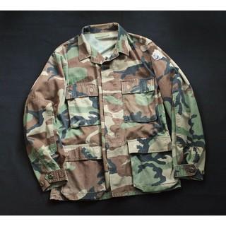 軍品 Vintage 90s ARMY 古著復古美軍公發迷彩外套 軍外套 made in USA