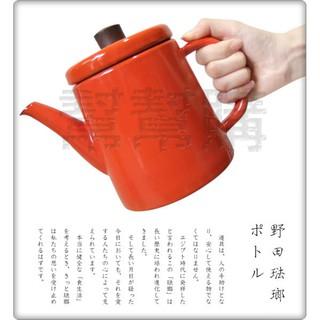 日本 野田琺瑯 Noda Horo 琺瑯壺 手沖壺 1.5L 日本製-柿子橘