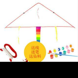 兒童DIY彩繪風箏材料包【請選郵局配送】
