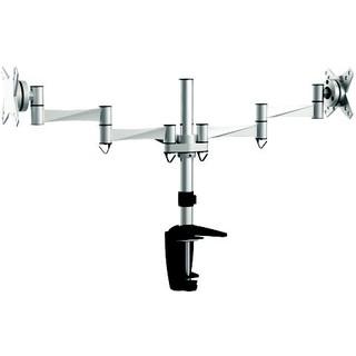 雙手臂雙螢幕~LCD液晶螢幕桌上支架//支撐架//桌上型支架 ~~~