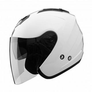 【現省400】THH T-386SP/386SP/386 素色 珍珠白 3/4罩 安全帽 買就送$400高級雨衣