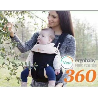 ergo-baby嬰兒背帶前抱式嬰兒抱帶新生兒背帶360新款寶寶背巾