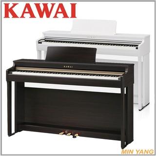 【民揚樂器】河合 KAWAI 數位鋼琴 電鋼琴 CN27 CN-27 玫瑰木色、白色 公司貨