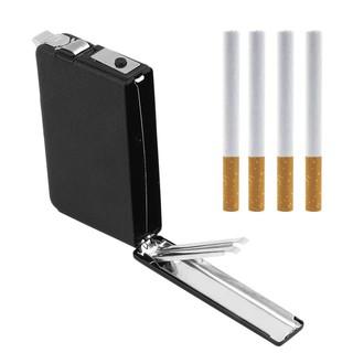 金屬鋁製 上掀蓋 香菸盒 / 菸盒 / 香煙盒 ( 媲美 zippo 煙盒 / 菸盒 材質 ) 內附 瓦斯充氣 打火機