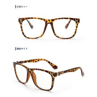 2017 眼鏡 電腦護目鏡 復古 男黑框 全框 防藍光鏡豹紋色