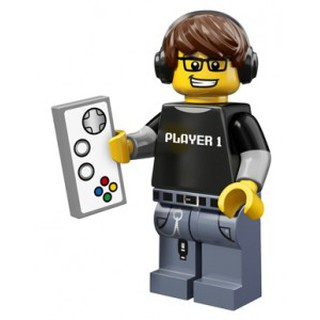 一直玩LEGO 12 代人偶71007 4 Video Game Guy