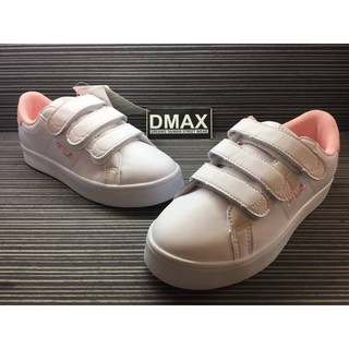 DMAX 專賣 正品 FILA COURT DELUXE 魔鬼氈 粉尾 女款