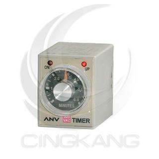 599免運【14010240】ANV 限時繼電器 AH3-3 60分 AC220V