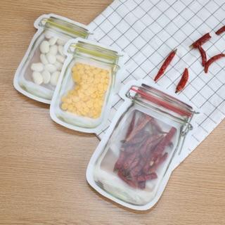 食物夾鏈袋/梅森瓶夾鏈袋/梅森罐夾鏈袋