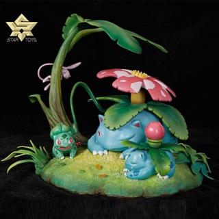 神奇寶貝 精靈寶可夢 星辰閣 妙蛙花家族手辦 GK 妙蛙草 妙蛙種子 夢幻 (非立體圖鑑)