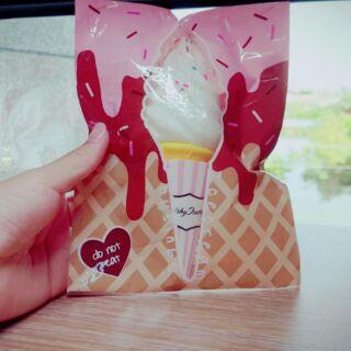 Puni丸 香草霜淇淋 冰淇淋 Squishy軟軟
