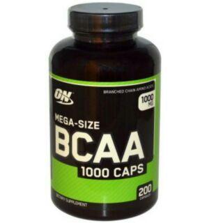 新品現貨 On 60 200顆 BCAA 支鏈胺基酸 1000mg Optimum Nutrition
