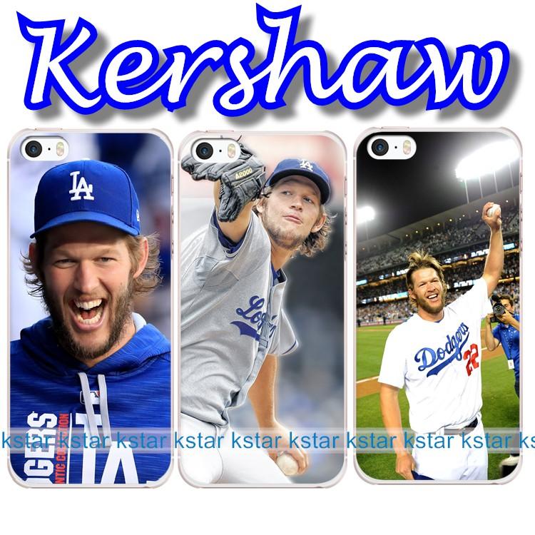 【kstar】Kershaw 柯蕭 Clayton Kershaw 道奇隊 克萊頓·克蕭 書僮 訂製手機殼 MLB 棒球