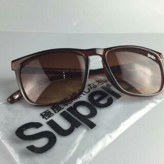 SUPERDRY 極度乾燥 太陽眼鏡 墨鏡 中性 男女皆可戴 棕色
