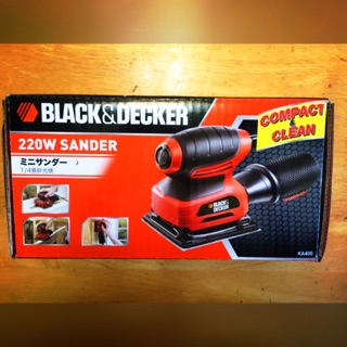 [全新未拆]磨砂機 砂紙機 B&Q Black&Decker 百得 KA400 220W 磨光機