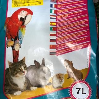德國 JRS 高效能環保木屑砂 兔子 老鼠 鸚鵡 貓咪 7L 松木砂