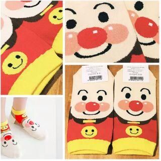正 韓國襪子 麵包超人直版短襪船形襪