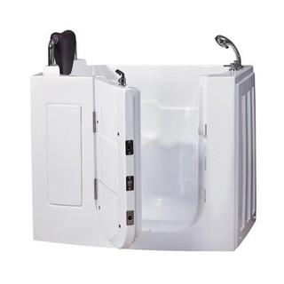 無障礙坐式外開門浴缸 (門寬只需63cm)