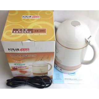 全新盒裝 KRIA可利亞 KR-205 全自動雙重保溫電熱壺 1.0公升 電熱水瓶 保溫瓶  快煮壺