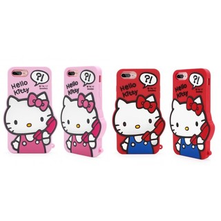 GARMMA Hello Kitty iPhone 7 PLUS I7+ 5.5吋 立體矽膠果凍套