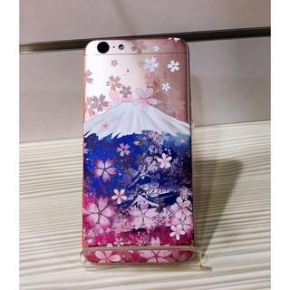 全機包膜  機身包膜 oppo a57 櫻花富士  彩繪包膜  日本LINTEC進口膜料  不殘膠 有效保護手機