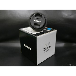 Canon EF-S 24mm f/2.8 STM 公司貨 盒單齊全