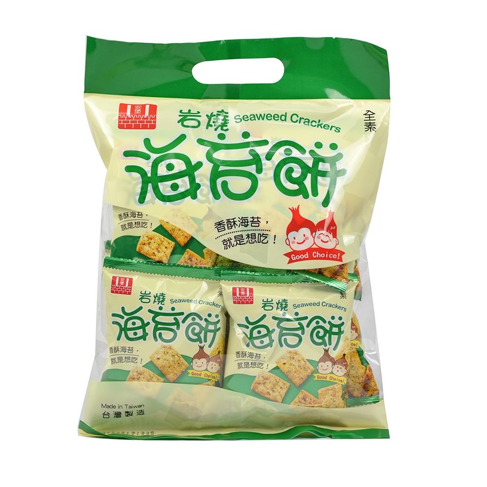 安堡 鹽燒海苔餅 220g 蝦皮24h