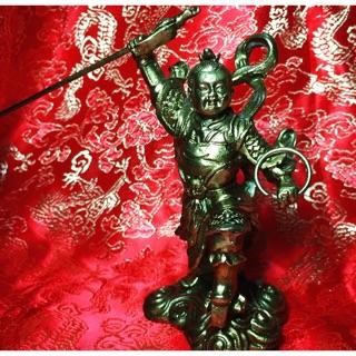 三太子,中壇元帥,銅雕神像