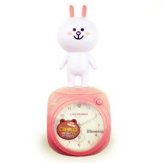 兔兔夜燈鬧鐘