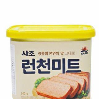 韓國進口SAJo 午餐肉 罐頭 火腿罐頭