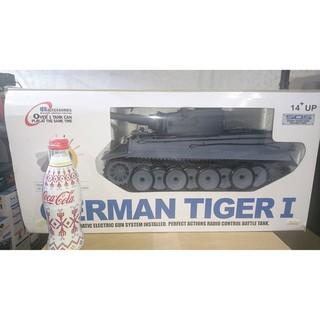 恆龍1/16/德國虎式坦克~TIGER I~遙控坦克戰車~煙霧擬真聲光版