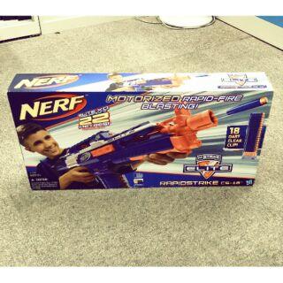 驚爆價!!全新 現貨 正品 NERF熱火精英CS-18發射器