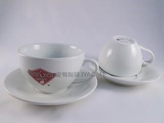 《愛鴨咖啡》Bar Zar nini 義大利進口 卡布奇諾咖啡杯盤 200cc 原價︰600元 促銷$399元