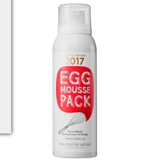 白滑紅雞蛋面膜 2017限定販售  EGG MOUSSE PACK RED EDITION