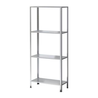 HYLLIS 層架組, 室內/戶外用 電鍍, 60x27x140 公分代購IKEA
