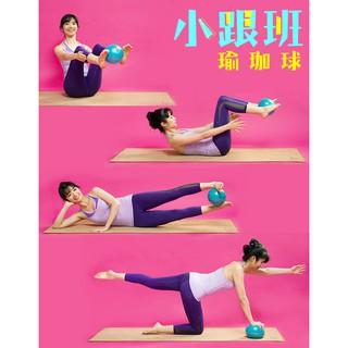 小跟班20cm 瑜珈球1 顆抗力球健身球韻律球遊戲球Fun