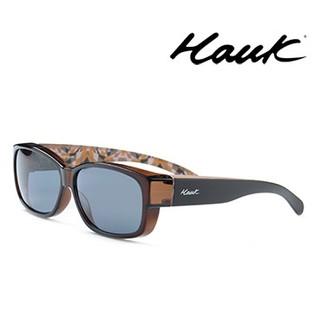 二手 HAWK 偏光太陽套鏡 (太陽眼鏡) HK1004-11A ,