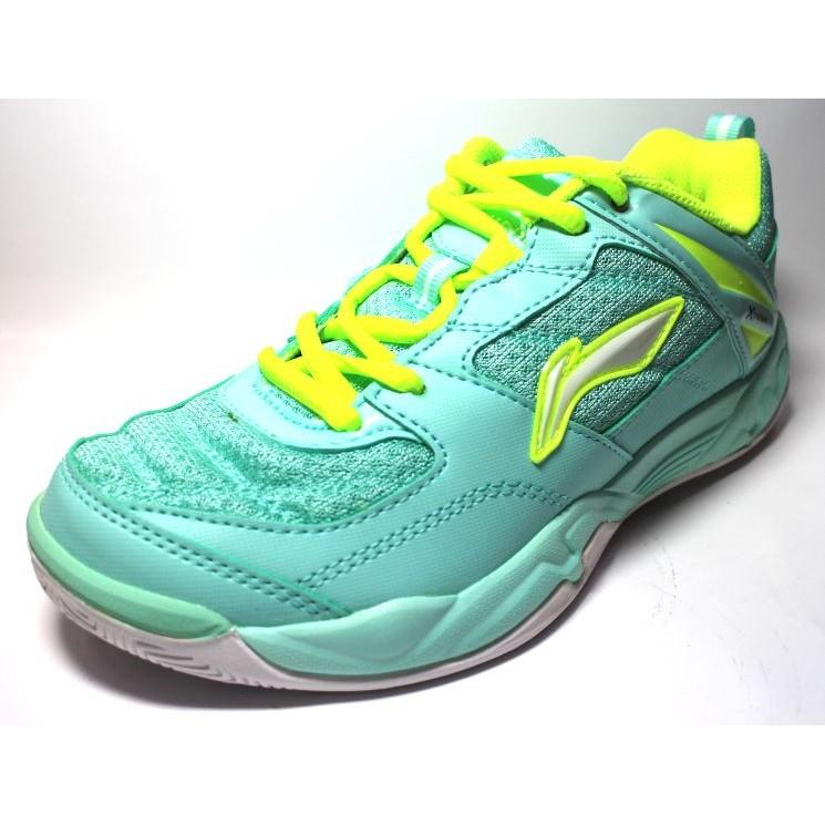【下殺五折 超便宜】LI-NING 李寧 (女) 專業羽球鞋 - LNAYTK056-1 粉綠 [Sunsports]