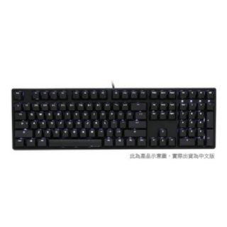 Ducky ONE 108鍵機械式鍵盤|黑色青軸中文白光