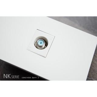 現貨白色神保電器單孔電視面板 電視訊號線插孔 JIMBO PANASONIC 中一電工 glatima 國際牌進口面板