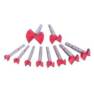 限時特價 工具 10pc 15 50微米Forstner鑽孔機鑽頭集木工孔鋸木刀鑽