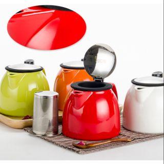 FORLIFE 陶瓷花茶壺 貝爾壺 BELL Teapot 470ml