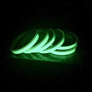 機車改裝光輪貼專用蓄光夜光貼 機車輪圈