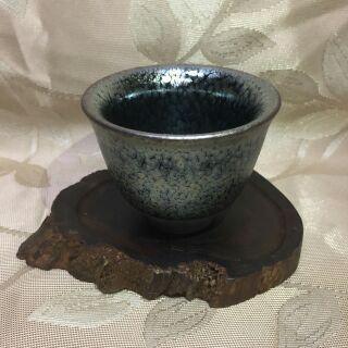 油滴建盞杯 天目杯 品茗主人杯陶瓷茶具