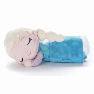 日本迪士尼 晚安睡姿娃娃(艾莎公主)
